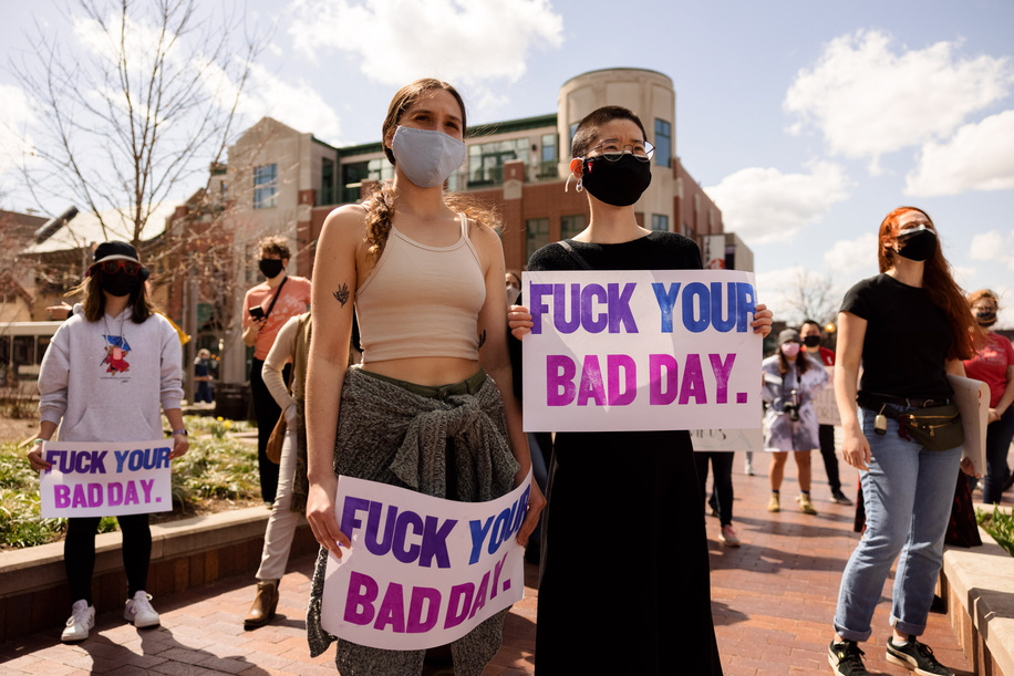 (EDITORS NOTE: Image contains profanity)