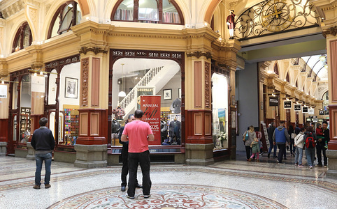 Melbourne's historic and celebrated Laneways or arcades that were originally built in the late 1800s. They have become a main tourist attraction since being 'gentrified' in the 1990s.