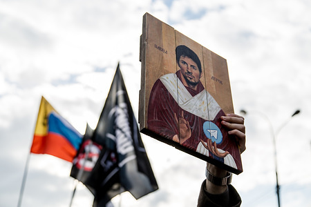 A placard seen being displayed during the protest against state internet control. Thousands of demonstrators took to the street of Moscow in a rally to protest against the tightening state control over internet in Russia.