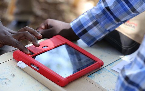 Residents seen using the single electronic document called 'Huduma Namba' during Kenya's nationwide campaign seeking to Merge personal information. The 45-day registration started in April and ended on 18 May 2019, but the country's President Uhuru Kenyatta extended the exercise to 25 May 2019.
