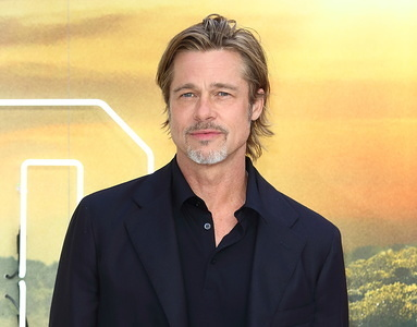 Brad Pitt on the red carpet for the Once Upon A Time In Hollywood - UK Premiere at the Odeon Luxe Leicester Square