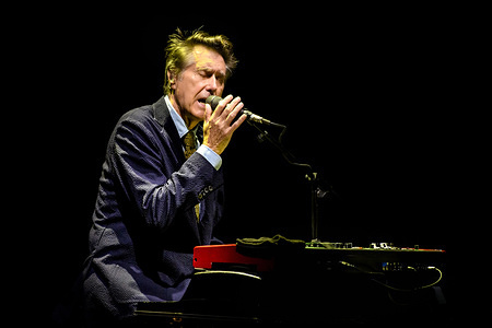 English singer and songwriter, Bryan Ferry, lead singer of 70's music group Roxy Music, performed a sold out show in Toronto.