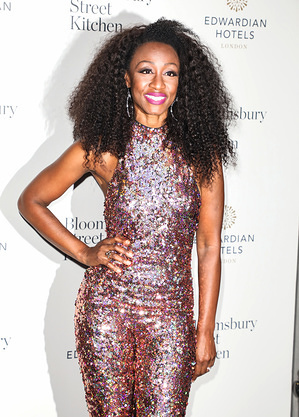 Beverley Knight attends the Bloomsbury Street Kitchen Restaurant Launch Party in London.