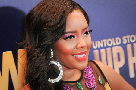 Angela Simmons attends the Growing Up Hip Hop, New York and  Untold Stories of Hip Hop event at the Paley Center in New York City.