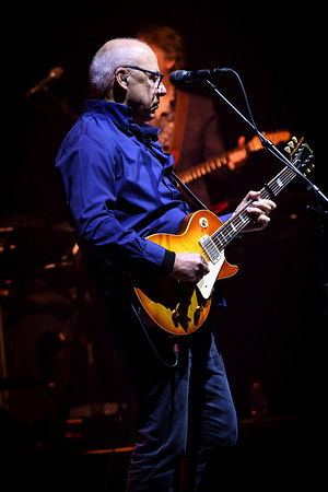 British singer, songwriter, Mark Knopfler performs live on stage at a sold out show in Toronto.