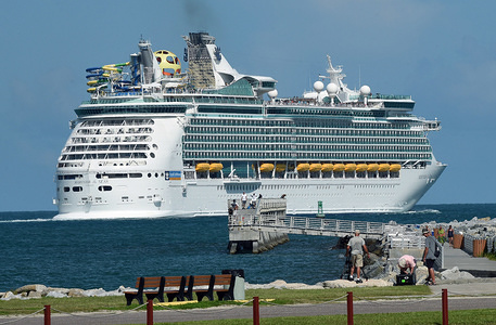 Royal Caribbean's Mariner of the Seas departs from Port Canaveral ahead of the arrival of Hurricane Dorian. The ship's itinerary was adjusted due to the hurricane and will take passengers on an extended cruise to Mexico instead of its original destination in the Bahamas. The storm has intensified to Category 4 and will threaten parts of the Bahamas and the Southeastern U.S over Labor Day weekend.