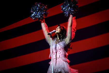 Welsh singer-songwriter Marina Lambrini Diamandis, previously known as Marina and the Diamonds, performed a sold out show in Toronto.