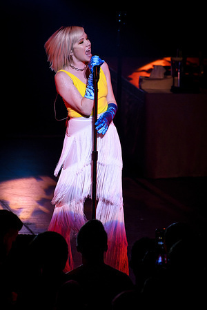 Canadian singer, songwriter, and actress, Carly Rae Jepsen, performs at a sold out show in Toronto.