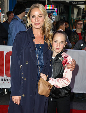 Tamzin Outhwaite attending the press night for Big the Musical at the Dominion Theatre in London.