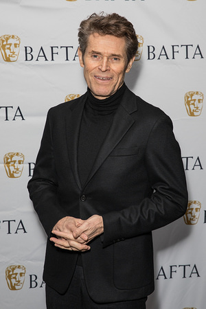 Willem Dafoe attends BATFTA A Life in Pictures at Odeon Luxe, Leicester Square.