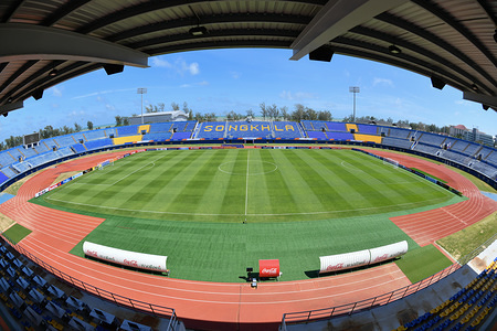 View of the Tinsulanon Football Stadium certified to host the Asia Under-23 Football Championship. The AFC U-23 Championship 2020 runs between 8 January - 26 January.