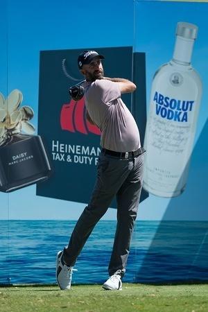 Geoff Ogilvy of Australia during the Emirates Australian Open Golf Tournament at The Australian Golf Club.