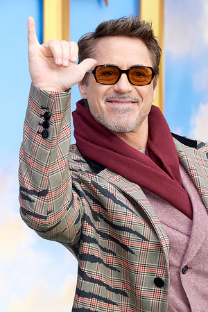 "Robert Downey Jr attends the ""Dolittle"" special screening at Cineworld Leicester Square in London."