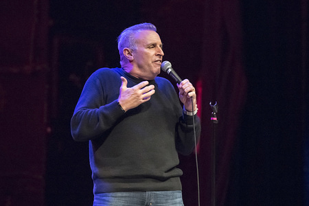 American stand-up comedian, Vic Dibitetto performs at a sold out show in Toronto.