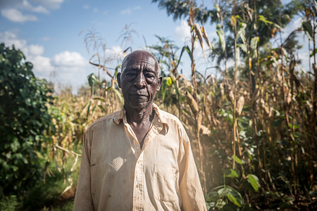 Stephen Kibewaweru, 82, says the last locust outbreak he can remember took place in 1948, when he was a child. Kenya is experiencing the worst outbreak of desert locusts in 70 years. The locusts have also reached Somalia, Sudan, Uganda, Eritrea and Ethiopia.