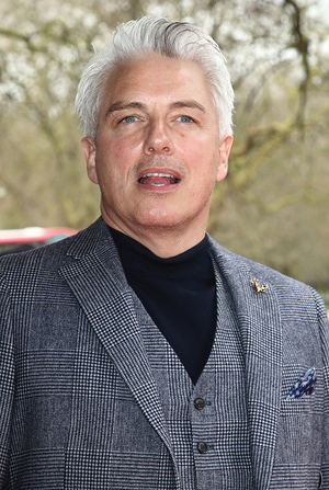 LONDON, UNITED KINGDOM - MARCH 10. 2020: John Barrowman attends the TRIC Awards 2020 held at the Grosvenor House, Park Lane in London.