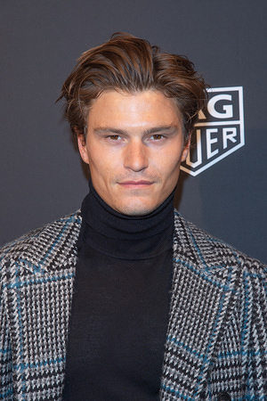NEW YORK, UNITED STATES - MARCH 12, 2020: Oliver Cheshire attends the Launch of The New Connected Watch by TAG Heuer at the Caldwell Factory in New York City.