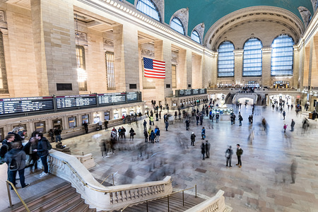 General view of the Grand Central Terminal in New York City.