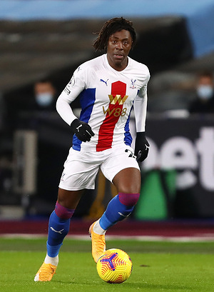 Eberechi Eze of Crystal Palace seen in action during the Premier League match between West Ham United and Crystal Palace at London Stadium. (Final score; West Ham United 1:1 Crystal Palace)